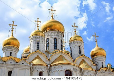 The Cathedral of the Dormition, Moscow, Russia