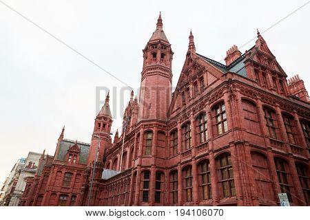 Birmingham, UK - 6 November 2016: Exterior Of The Birmingham Magistrates Court UK