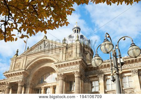 Birmingham, UK - 6 November 2016: Exterior Of Birmingham City Council Building In Victoria Square