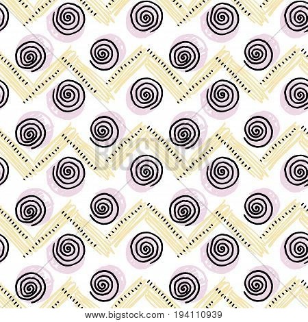 abstract pale color vector seamless pattern. illustration background