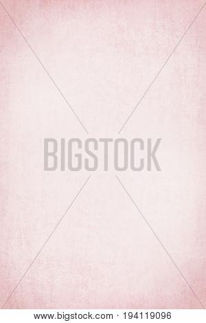 A4 international size - Pastel pink grunge textured paper background