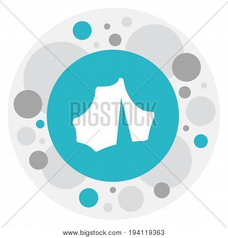 Vector Illustration Of Camping Symbol On Camp Icon. Premium Quality Isolated Circus Element In Trendy Flat Style.
