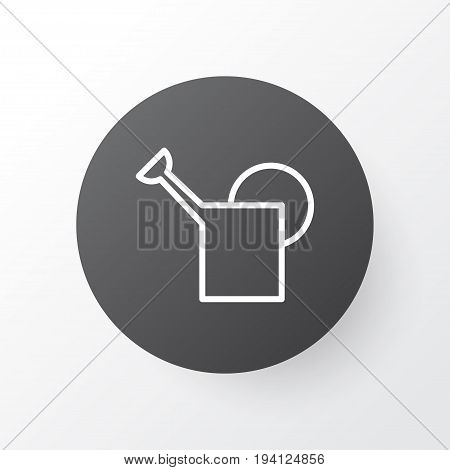 Bailer Icon Symbol. Premium Quality Isolated Watering Can Element In Trendy Style.