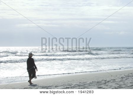 Strolling On The Beach