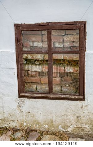 Window Of An Old House