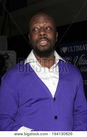 LOS ANGELES - FEB 1:  Wyclef Jean at the Bellafortuna Entertainment NAACP Gifting Suite at Shrine Auditorium on February 1, 2013 in Los Angeles, CA