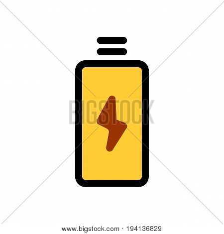 energy drink icon isolated on background. Modern flat pictogram, business, marketing, internet concept. eps 10