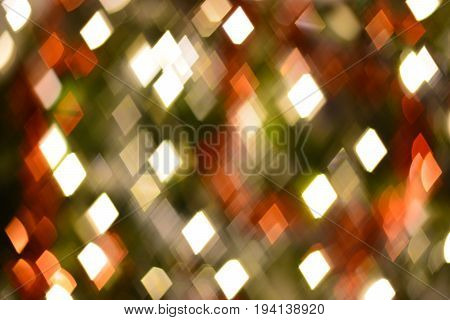 abstract trapezoid, diamond shape bokeh for background