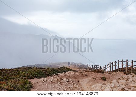 A View Of The Atlantic Ocean From Cape Rock