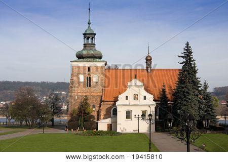 Old church located in Wloclawek, Poland.
