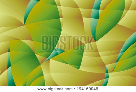 curve  geometry concept landscape. modern background in nature colors