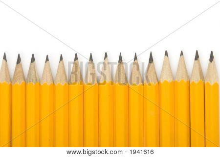 Line Of Pencils