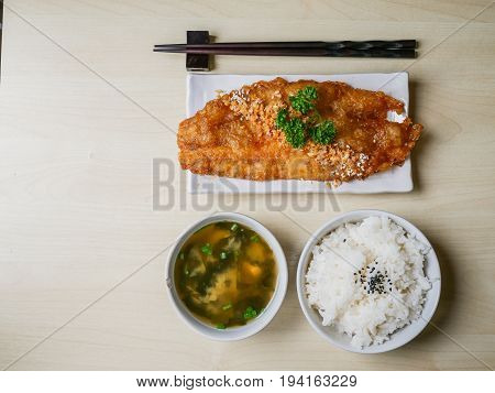 Fish Fried And Rice