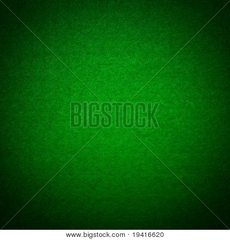 Green poker table felt background