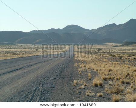 Scenic Views In Namibia