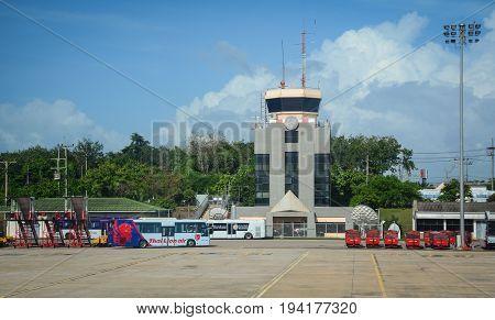 Chiang Mai International Airport In Thailand