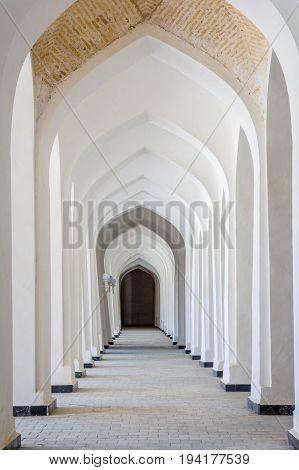 Arches Of Corridor, Kalyan Mosque, Bukhara