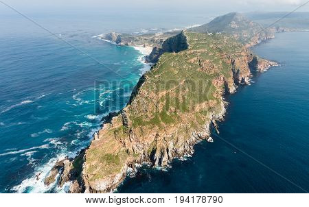 The Famous Cape Point (south Africa)