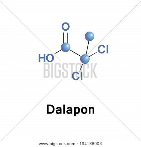 Dalapon is a selective herbicide used to control perennial grasses. The major use of dalapon is on food crops including sugarcane and sugar beets