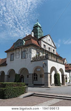 Sprudelhof spa house, Bad Nauheim, Hesse, Germany