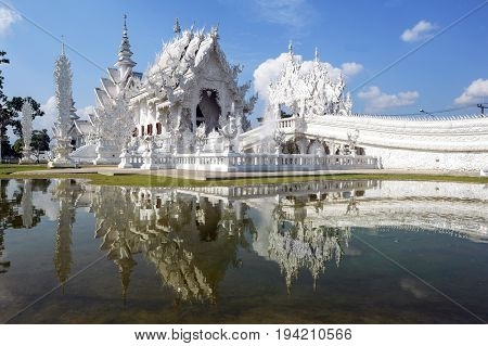 Wat Rong Khun, The White Temple Of Chiang Rai