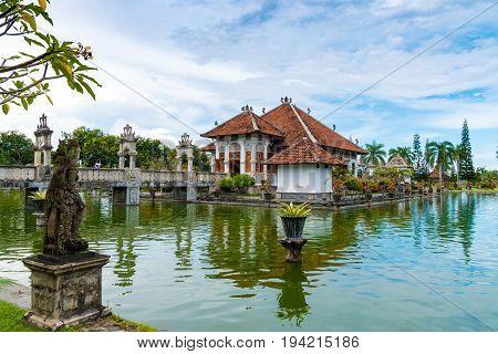 Taman Ujung Water Palace In Bali, Indonesia