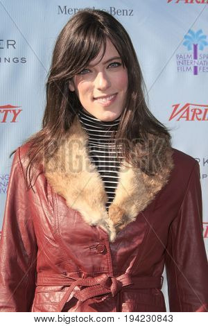 LOS ANGELES - JAN 6:  Rebecca Thomas at the Variety's