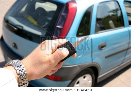 Handle Electronic Car Key