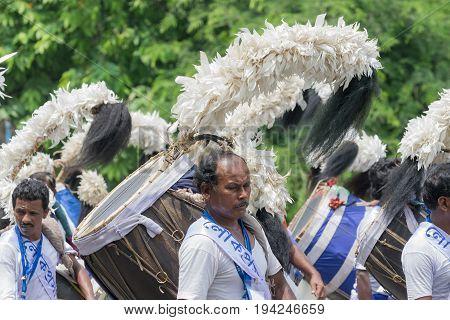 KOLKATA WEST BENGAL / INDIA - AUGUST 15TH 2016 :