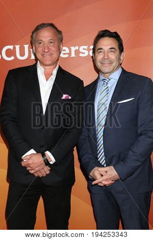 LOS ANGELES - MAR 20:  Dr. Terry Dubrow, Dr. Paul Nasif at the NBCUniversal Summer Press Day at Beverly Hilton Hotel on March 20, 2017 in Beverly Hills, CA