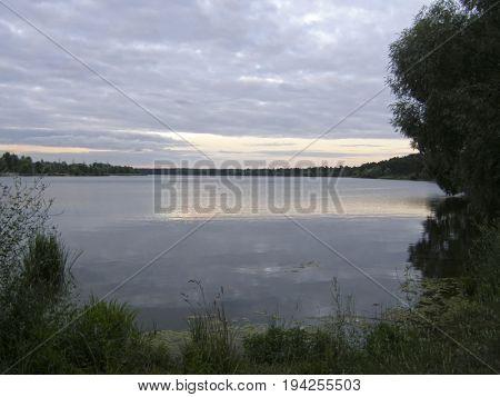 The Gulf of the Dnieper. Kiev. Ukraine.