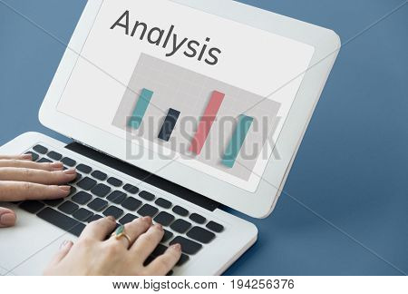 Data Analysis Summary Results Graph Chart Word Graphic