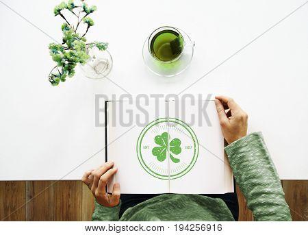 Saint Patrick Day Clover Concept