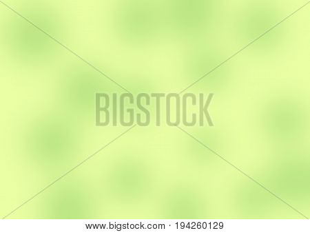 Blurred Abstract Colorful Background In Yellow And Green Tones