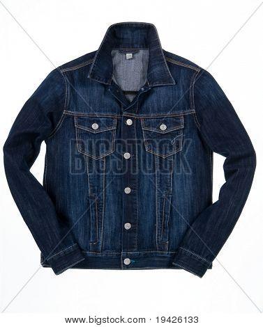 denim jacket isolated