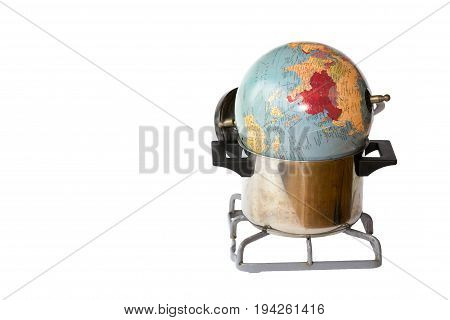 Conceptual Representation Of Global Warming