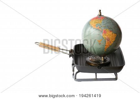 Conceptual Representation Of Global Warming