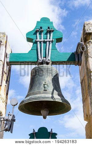 Bells At The Top Of The Cathedral Of Faro