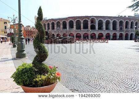 City View Of Verona, Italy