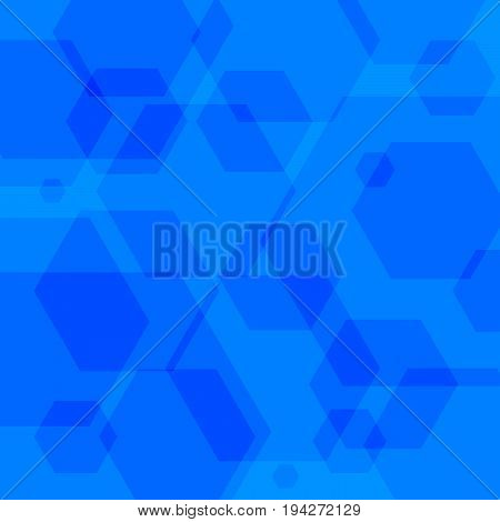 Abstract background of polygons. Colorful background of patterns and shapes. Abstract composition of geometric shapes. Vector illustration