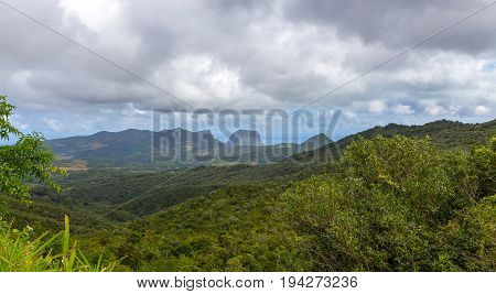 View Of Brabant Le Morne Mauritius Panorama