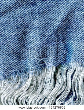 Denim Blue Jeans Texture.