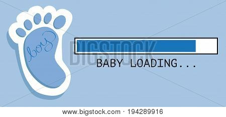 Baby Boy Loading Expecting Parents Little Feet