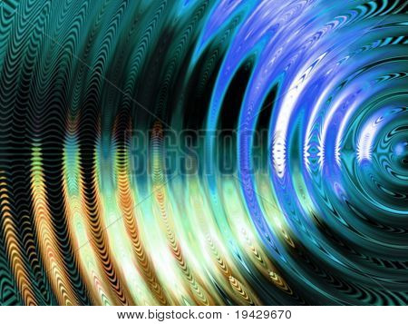 Vibration swirl abstract.