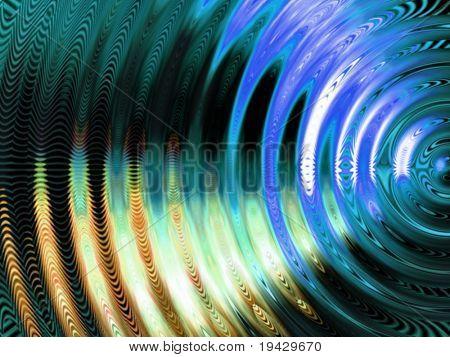 Vibration swirl abstract.