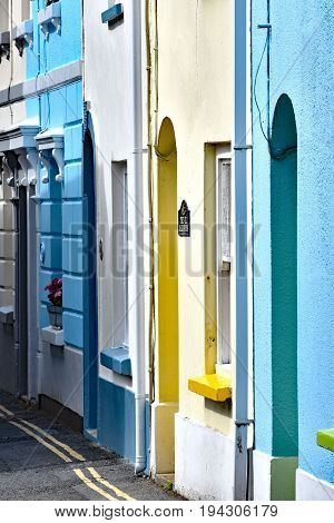 Appledore England4th July 2017 - Irsha Street. Full of old and colourful fishmans cottages in the ancient coastal port of Appledore in North Devon Engand