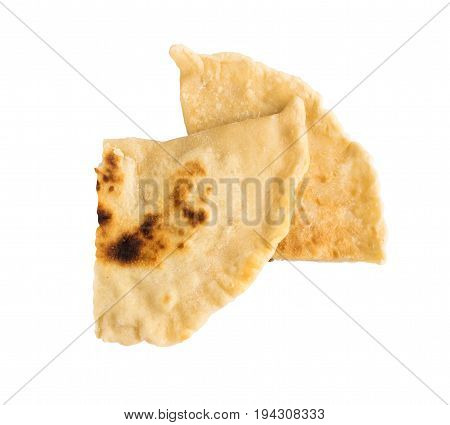 Calzone Samosa Tortilla Isolated