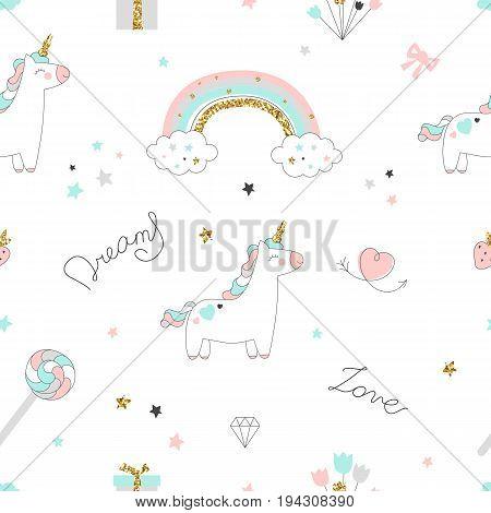 Unicorn Seamless Pattern-02.eps