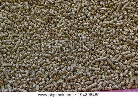 Linen Granules Background