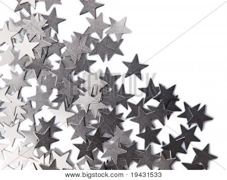 Scattered metal stars